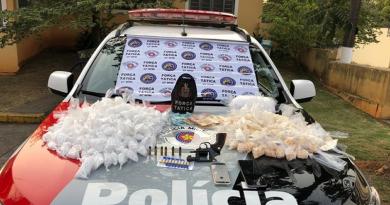 POLICIA DE CERQUILHO APREENDE DROGA,ARMAS E CELULARES
