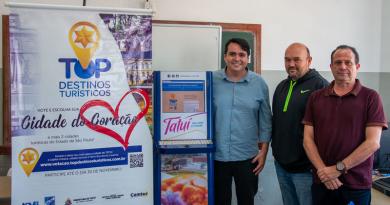 """TATUÍ PASSA PARA A SEGUNDA FASE DO PRÊMIO """"TOP DESTINOS TURÍSTICOS 2018/2019"""""""