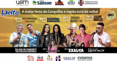 ACONTECE EM CERQUILHO A FESTA DE PEÃO DE BOIADEIRO