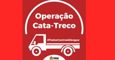 Prefeitura de Iperó realiza operação Cata-Treco