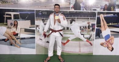 Atleta de Cerquilho no Interior de SP  conquista campeonato de Jiu-Jitsu