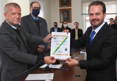 Presidente da Câmara Municipal da Cidade de Tietê é nomeado Delegado Federal